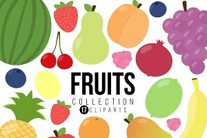 Fruit Clipart Collection