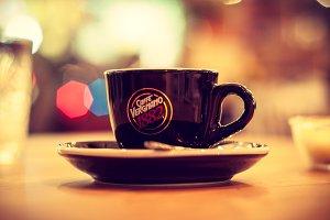Coffee Espresso on Vivid Lights