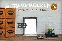 Framelicious. In-Frame Mockup #4
