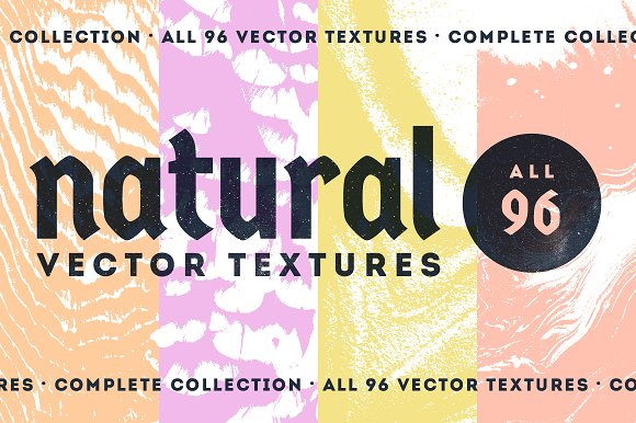 Natural Vector Textures COMPLETE