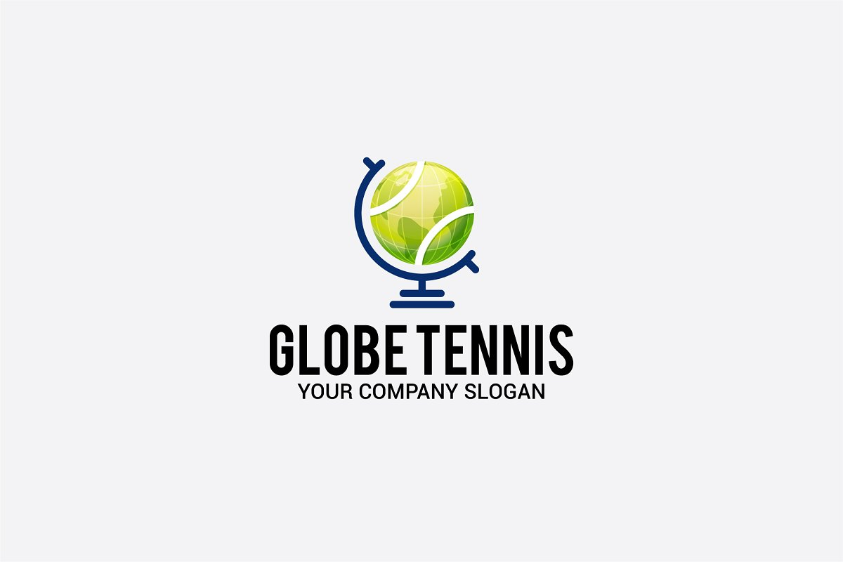 globe tennis in Logo Templates - product preview 8