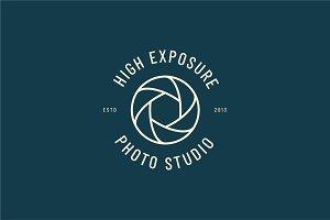 6 Minimal Premade Photography Logos