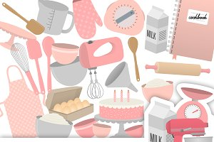 Baking Clipart Collection