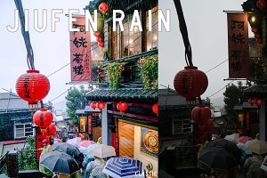 Jiufen Rain Lightroom Preset