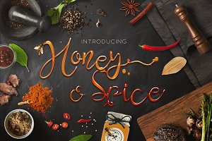 Honey & Spice Script
