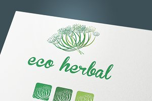 "Logo"" Eco herbal"""