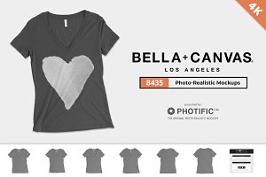 Bella Canvas 8435 T-Shirt Mockups