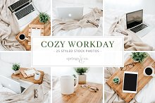 Cozy Workday Styled Photo Bundle