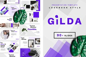 Gilda Powerpoint Template 50% Off!