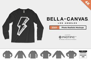 Bella Canvas 3501 Shirt Mockups