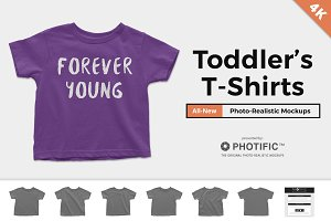 Toddler's T-Shirt Mockups