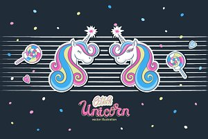 Vector little unicorn/Princess