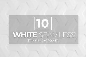 10 White Seamless Background