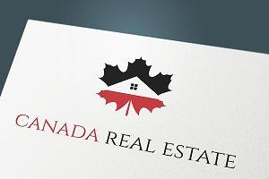"Logo "" Canada Real Estate"""
