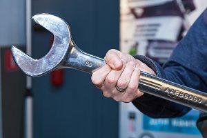 Tool wrench for repair.