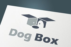 "Logo""Dog Box"""