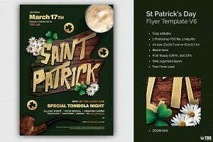 Saint Patricks Day Flyer Template V6