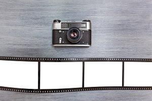 Ancient camera.