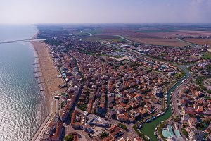 Venice city from above.