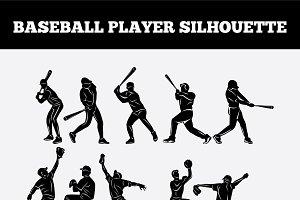 baseball-vector-silhouette