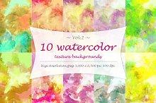 Watercolor texture Vol 2.