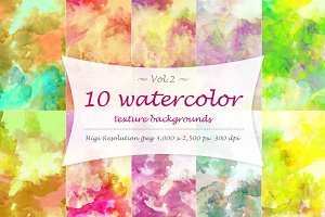 Watercolor texture Vol 2.