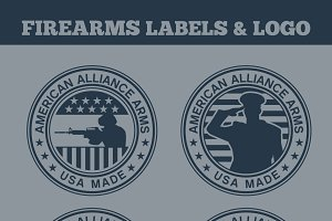 Firearms Labels & Logo