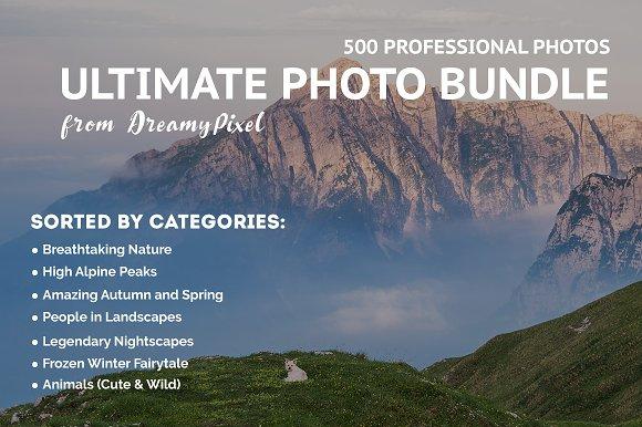 Big Photo Bundle 2018 500 Images