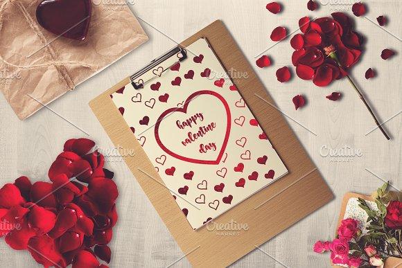 Valentine Letter Mock-up #3