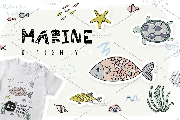 Marine Design Set