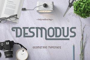 Desmodus - Geometric Typeface