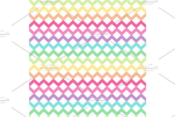 Primitive seamless retro pattern