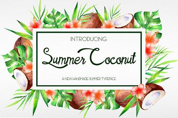 Summer Coconut