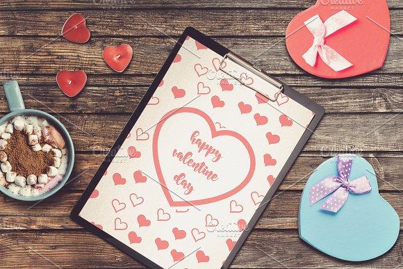 Valentine Letter Mock-up #7