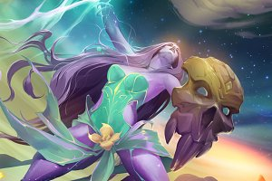 Lightning goddess