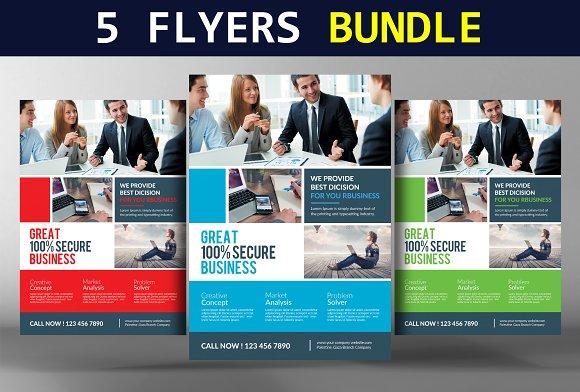 5 Multi-purpose Corporate Flyers