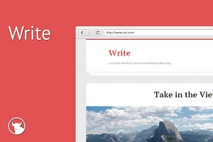 Write - WordPress Theme