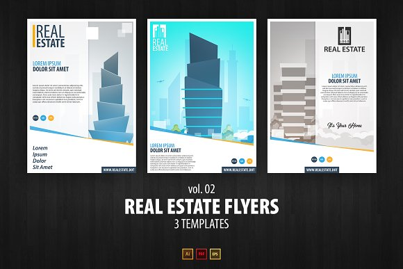 Real Estate Flyers Vol 02