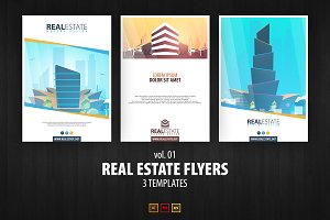 Real Estate Flyers vol. 01