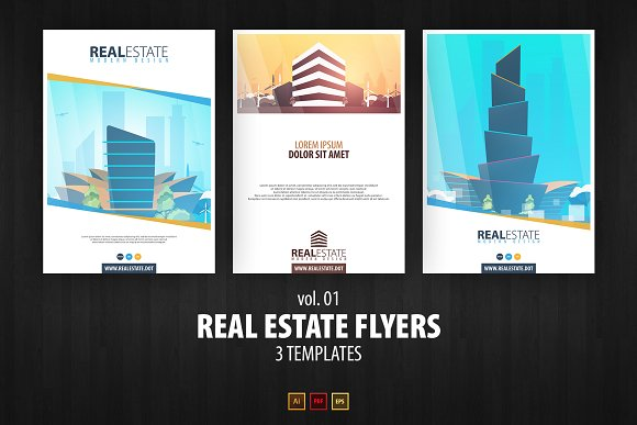 Real Estate Flyers Vol 01