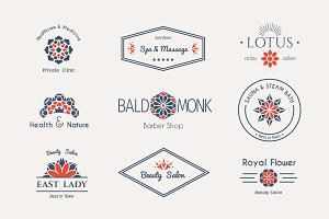 9 Health and Beauty Logo Templates
