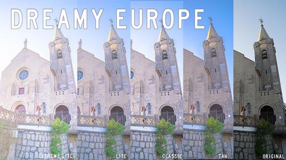 Dreamy Europe Lightroom Presets