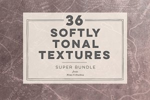 36 Softly Tonal Textures