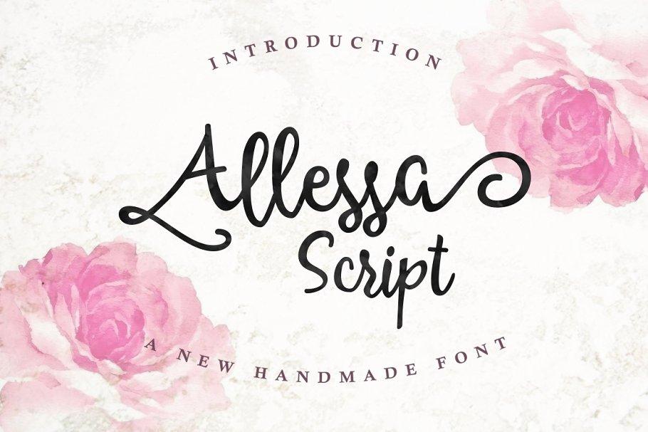 Allessa Script (30% OFF)