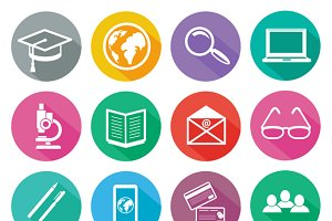 Icon set for professional training
