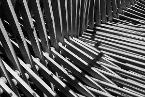 Urban Black and White Abstract