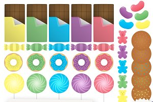 Candy Clipart Collection