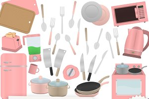 Kitchen Clipart Collection