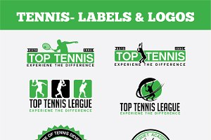 TENNIS- LABELS & LOGOS VOL1