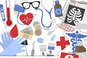 Medical Clipart Collection
